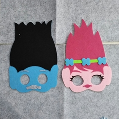 Kids Cosplay Trolls Party Forest
