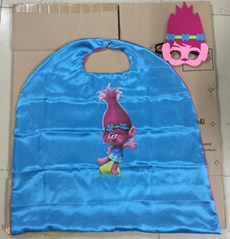 Trolls Poppy Cosplay Capes Mask
