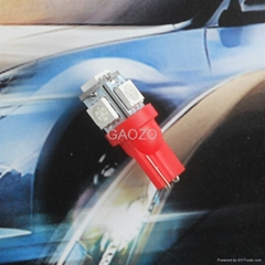 Auto spares LED Red T10(5*5050