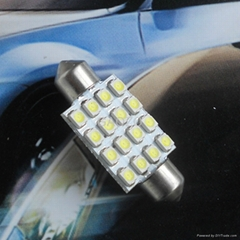 Auto spares LED White 39mm