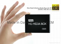 Full HD 1080P Car Media Player