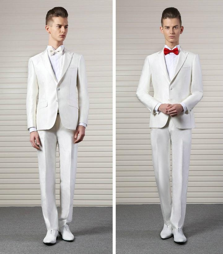 Cream Groom Suit | Wedding Tips and Inspiration