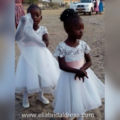 Little Girl Wedding Party Show
