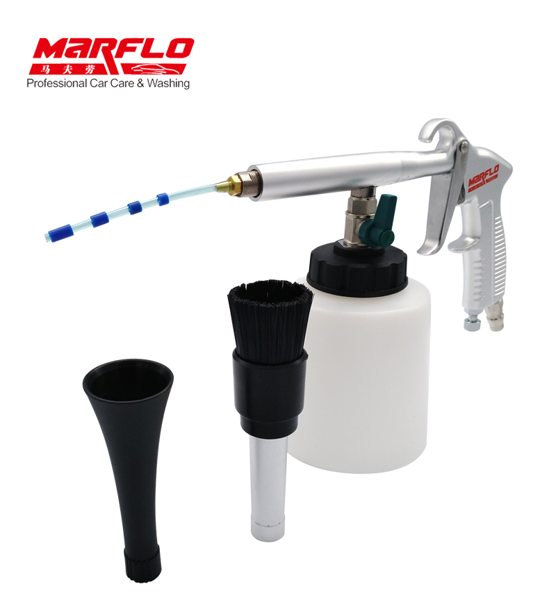 marflo tornado cleaning gun for car interior cleaning tool tornador. Black Bedroom Furniture Sets. Home Design Ideas