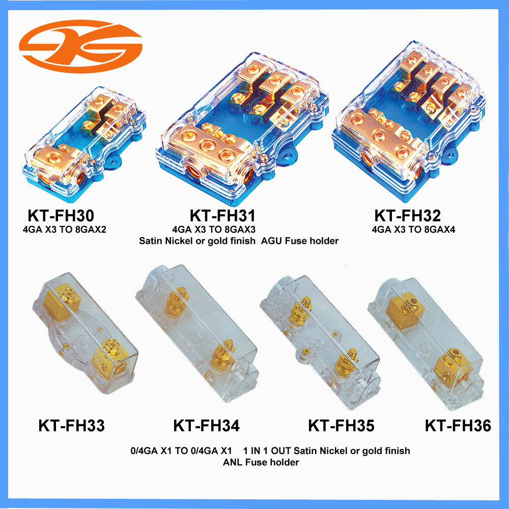 Kt Fh30 36car Fuse Holderaudio Holder For Car Audio System Auto X3 Box Product Image