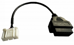 For Tesla 20Pin obd female cable