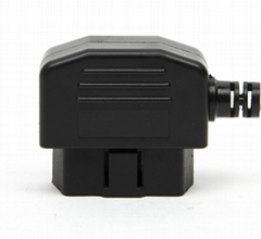 OBDII male connector 90 Degree