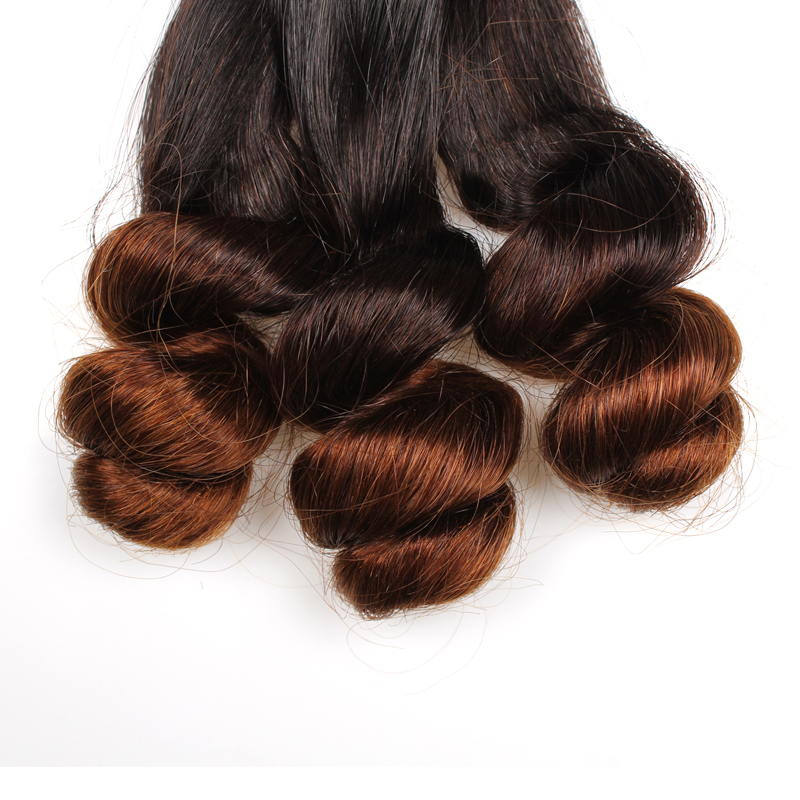 Top quality 9a funmi human hair extension brazilian loose wave ombre product image pmusecretfo Image collections