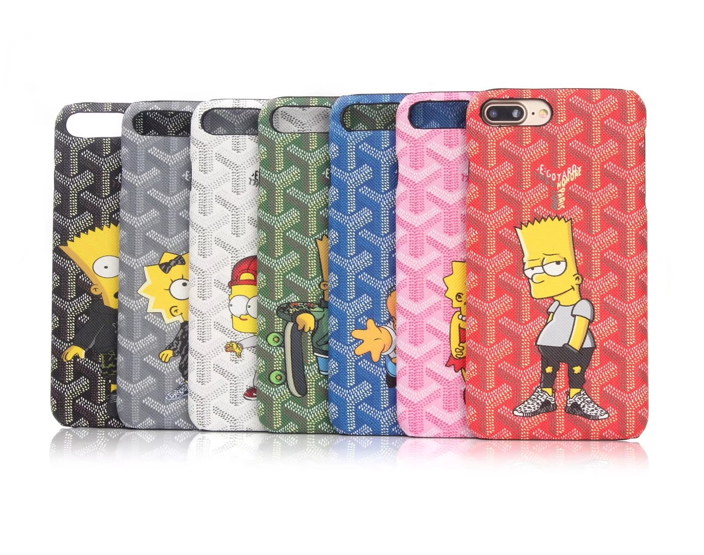 on sale f9048 5b364 Goyard simpson magnetic back phone case hard cover for iphone 6 6plus