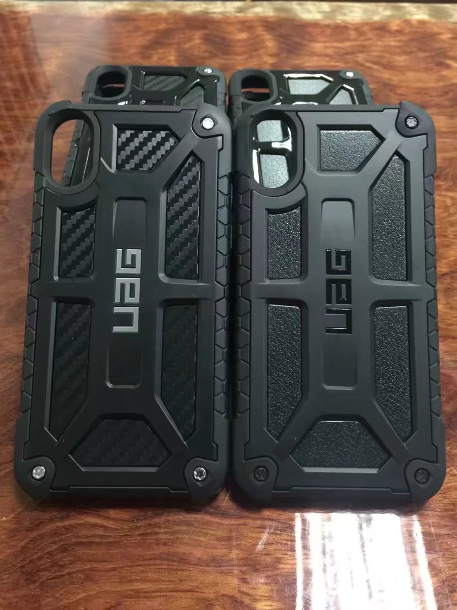 low priced 5b246 aca54 Note 9 XR XS MAX Armor Urban UAG MONARCH shockproof carbon fiber