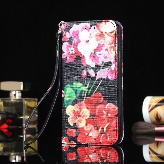 6057d0665bdf XR XS MAX Gucci pink flower butterfly magnetic credit card holder